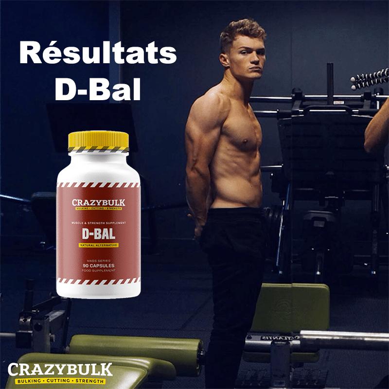 Résultats D-Bal de Crazy Bulk